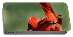 Cardinal-a Picture Is Worth A Thousand Words Portable Battery Charger