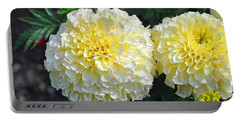 Portable Battery Charger featuring the photograph Carnations by Tikvah's Hope