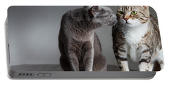 Cat Kiss Portable Battery Charger