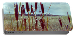 Portable Battery Charger featuring the photograph Cat Tails by Bonfire Photography
