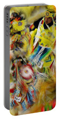 Portable Battery Charger featuring the photograph Celebration Of Nations by Vicki Pelham