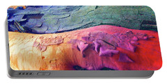 Portable Battery Charger featuring the digital art Celebration by Richard Laeton