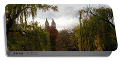 Central Park Autumn Portable Battery Charger