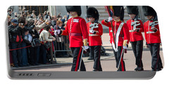 Changing Of The Guard At Buckingham Palace Portable Battery Charger