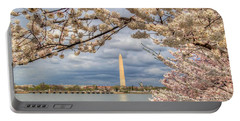Cherry Blossoms Washington Dc 4 Portable Battery Charger