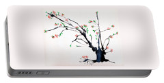 Cherry Tree By Straw Portable Battery Charger