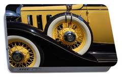 Portable Battery Charger featuring the photograph Chevrolet 1932 by John Schneider