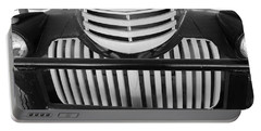 Chevy Grill Portable Battery Charger by Pamela Walrath