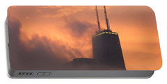 Chicago Dusk Portable Battery Charger