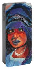 Child Bride Of The Sahara - Close Up Portable Battery Charger