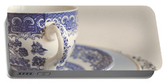 China Cup And Plates Portable Battery Charger by Lyn Randle
