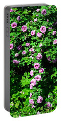 China Rose Portable Battery Charger