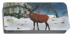 Christmas Elk Portable Battery Charger