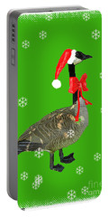 Christmas Goose Portable Battery Charger