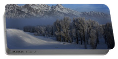 Christmas Morning Grand Teton National Park Portable Battery Charger