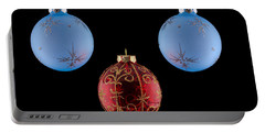 Christmas Ornaments Portable Battery Charger by Doug Long