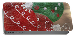 Portable Battery Charger featuring the photograph Christmas Ornaments by Patrice Zinck