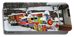 Christmas Train Portable Battery Charger
