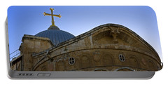 church of the Holy Sepulchre Old city Jerusalem Portable Battery Charger