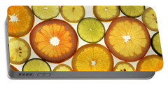Citrus Slices Portable Battery Charger by Photo Researchers