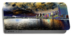 City Of Color Portable Battery Charger by Douglas Barnard