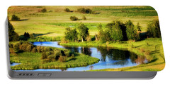 Portable Battery Charger featuring the photograph Clark Fork Delta  by Albert Seger