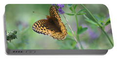 Close-up Butterfly Portable Battery Charger