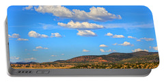 Cloudy Wyoming Sky Portable Battery Charger