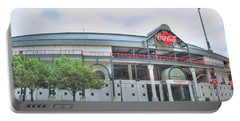 Portable Battery Charger featuring the photograph Coca Cola Field  by Michael Frank Jr