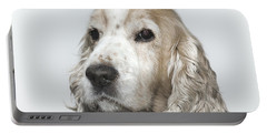 Cocker Spaniel Dog Portable Battery Charger