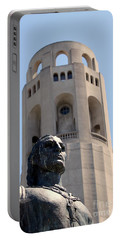 Coit Tower Statue Columbus Portable Battery Charger