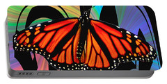 Color My World With Butterflies Portable Battery Charger by Carol F Austin