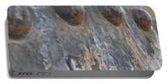 Portable Battery Charger featuring the photograph Color Of Steel 7 by Fran Riley
