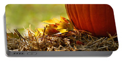 Portable Battery Charger featuring the photograph Colorful Autumn by Nava Thompson