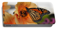 Portable Battery Charger featuring the photograph Colors In Sync by Michael Frank Jr