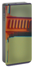 Portable Battery Charger featuring the digital art Coming In by Richard Laeton