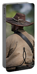 Confederate Cavalry Soldier Portable Battery Charger by Kim Henderson