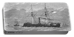 Confederate Ship, 1865 Portable Battery Charger