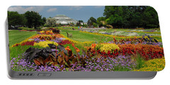 Portable Battery Charger featuring the photograph Conservatory Gardens by Lynn Bauer