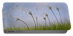 Contemporary Landscape Art Make A Wish By Amy Giacomelli Portable Battery Charger by Amy Giacomelli
