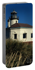 Portable Battery Charger featuring the photograph Coquille Light by Sharon Elliott