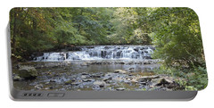 Portable Battery Charger featuring the photograph Corbetts Glen Waterfall by William Norton