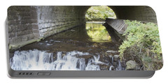 Portable Battery Charger featuring the photograph Corbetts Glen by William Norton