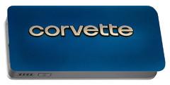 Corvette Badge Portable Battery Charger