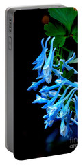 Corydalis  Portable Battery Charger by Tanya  Searcy