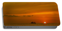 Portable Battery Charger featuring the photograph Costa Rica Sunset by Eric Tressler