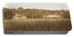 Portable Battery Charger featuring the photograph Country Estate by Shannon Harrington