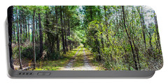 Portable Battery Charger featuring the photograph Country Path by Shannon Harrington