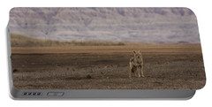 Coyote Badlands National Park Portable Battery Charger