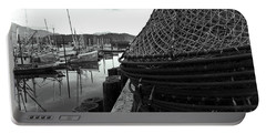 Crab Traps Portable Battery Charger by Darcy Michaelchuk